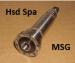 H6391H0232 - 6423A0031 вал шпинделя HSD ES929 ISO30
